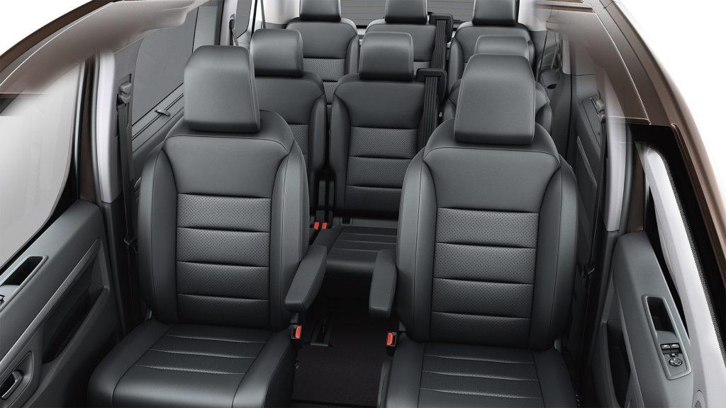 De Toyota ProAce City Verso van 2020 - interieur