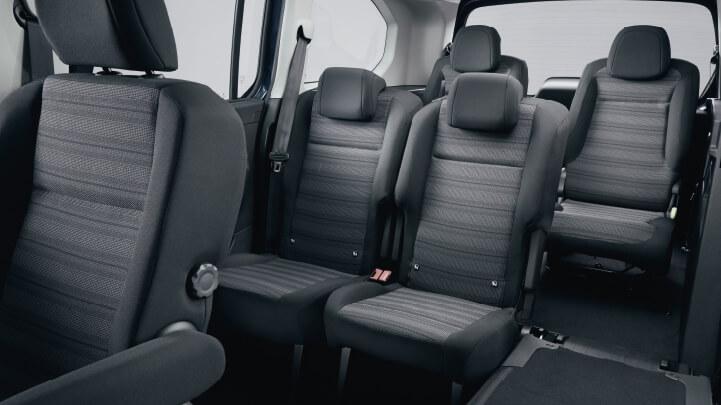 De Opel Combo Life van 2020 - interieur