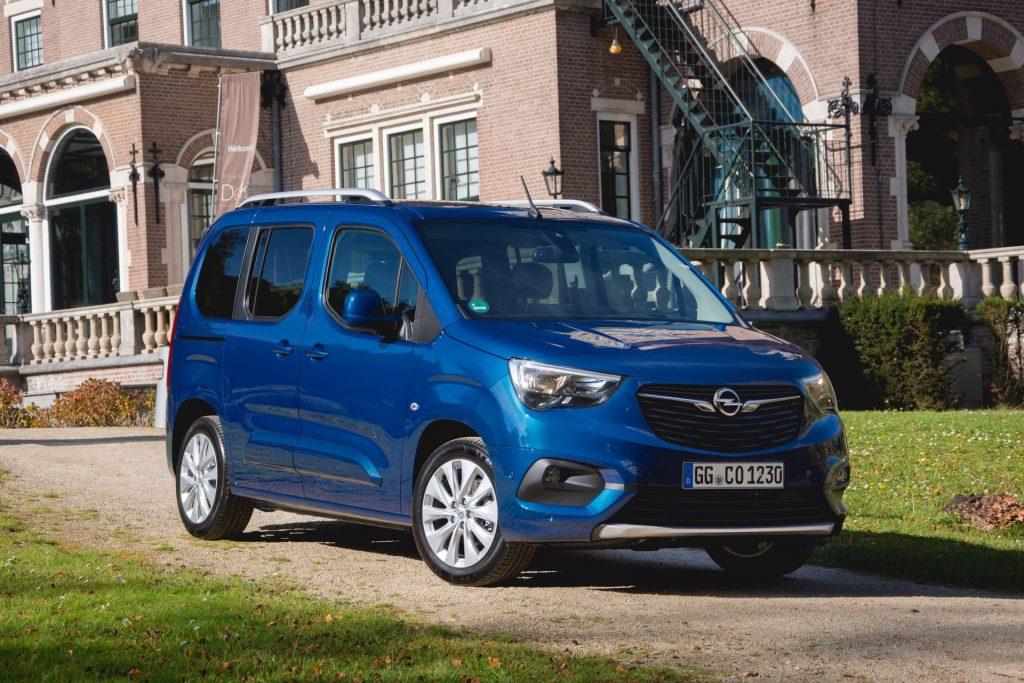 De Opel Combo Tour van 2018-2020