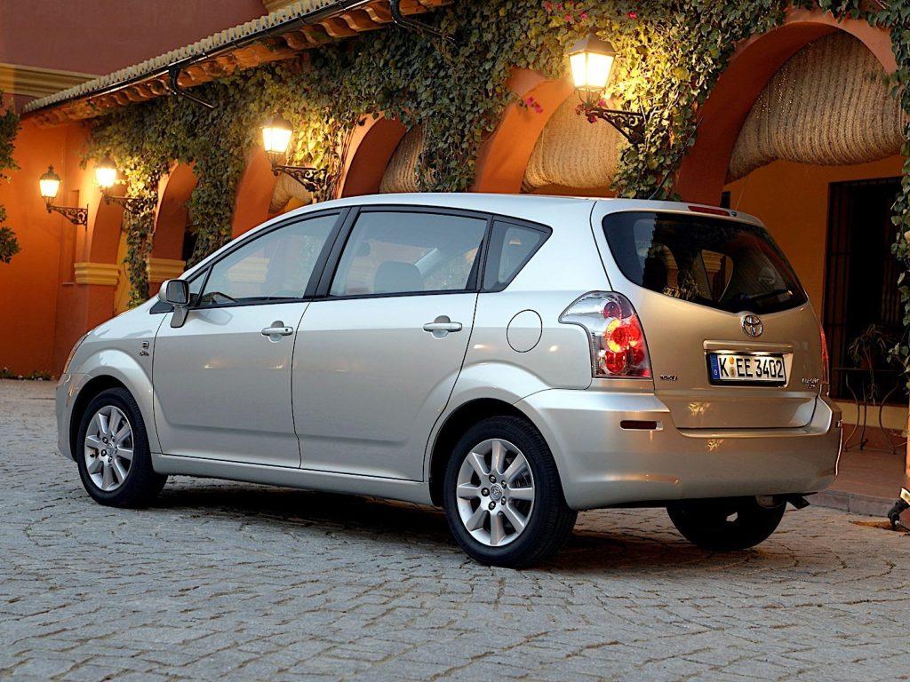 De Toyota Corolla Verso van 2004-2007