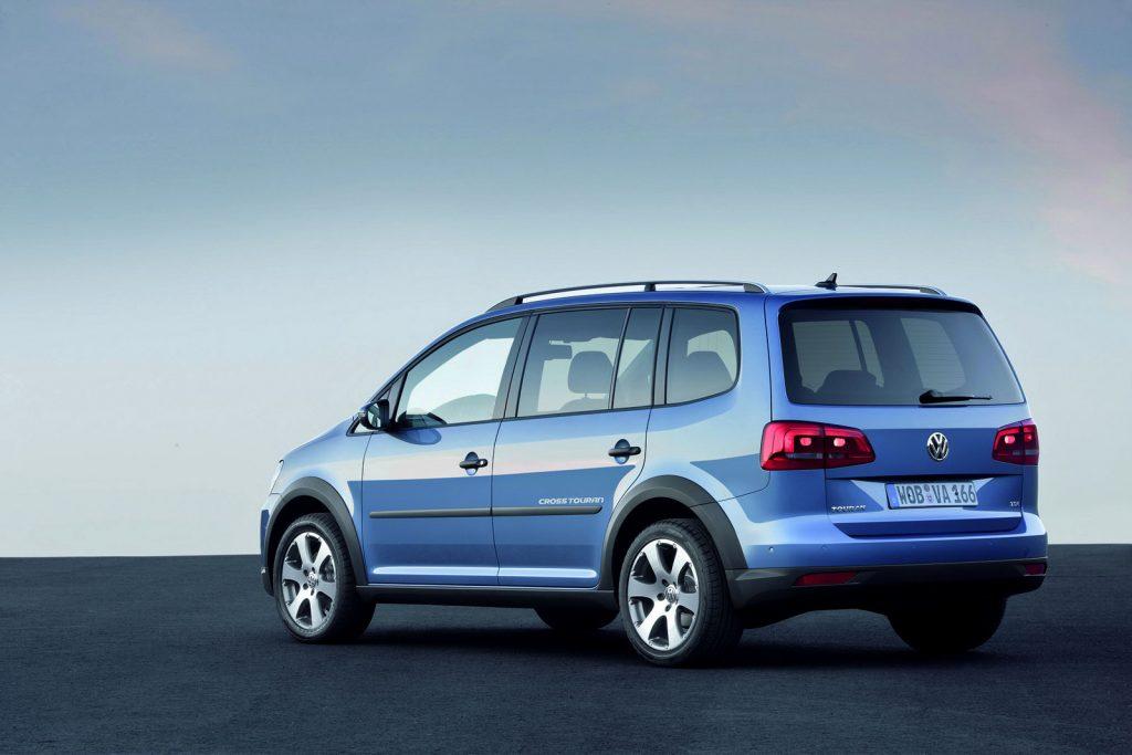 De Volkswagen CrossTouran van 2010-2013