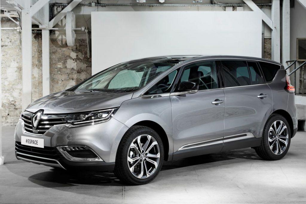 De Renault Espace van 2015-2020