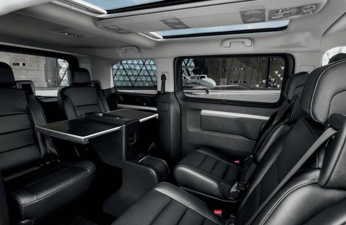 De Peugeot Traveller van 2016 - interieur