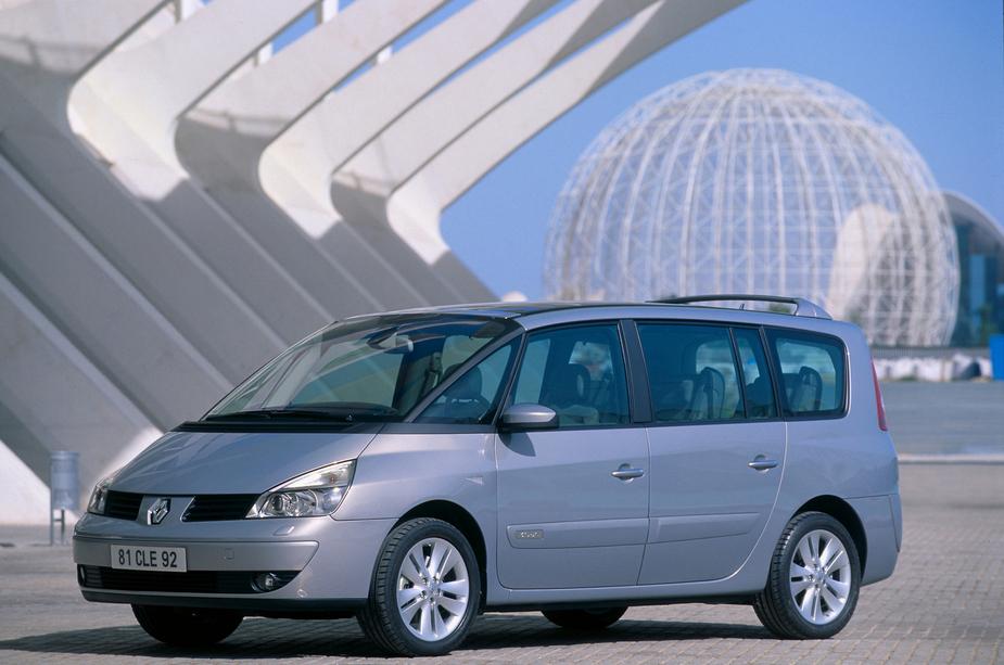 De Renault Grand Espace van 2006-2010