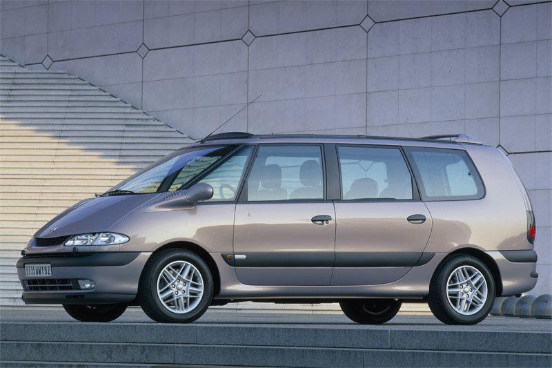 De Renault Grand Espace van 2000-2002