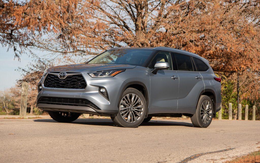De Toyota Highlander van 2019