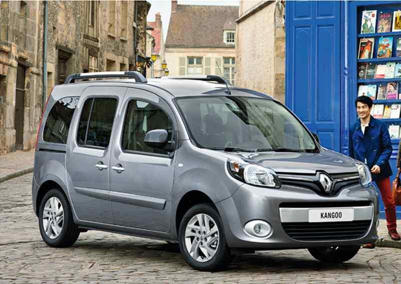 De Renault Grand Kangoo van 2013-