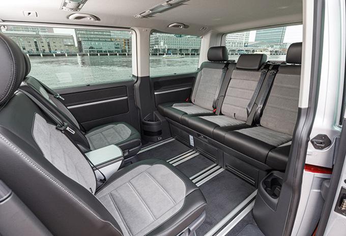 De Volkswagen Multivan van 2015 - interieur