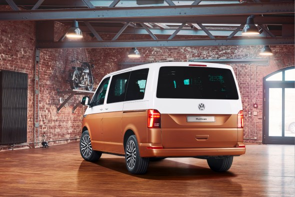 De Volkswagen Multivan van 2015