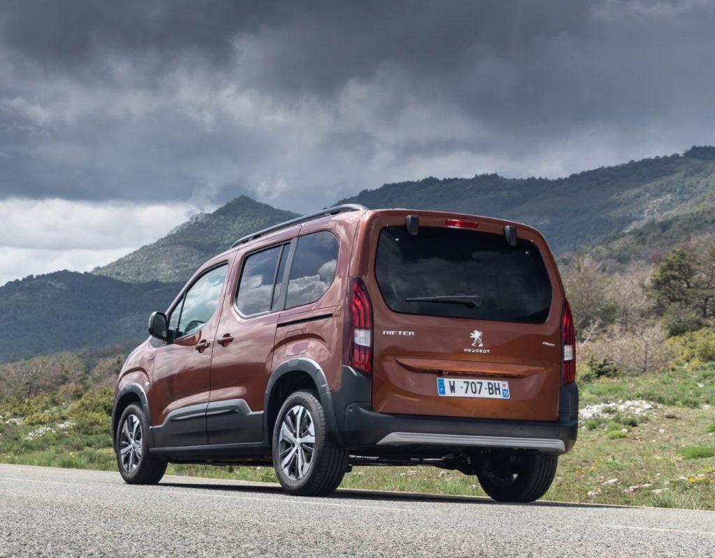 De Peugeot Rifter van 2018