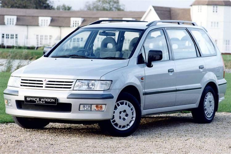 De Mitsubishi Space Wagon van 1999-2004