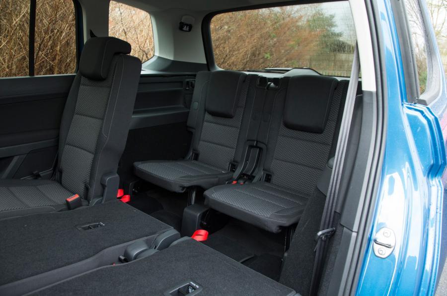 De Volkswagen CrossTouran van 2010-2013 - interieur