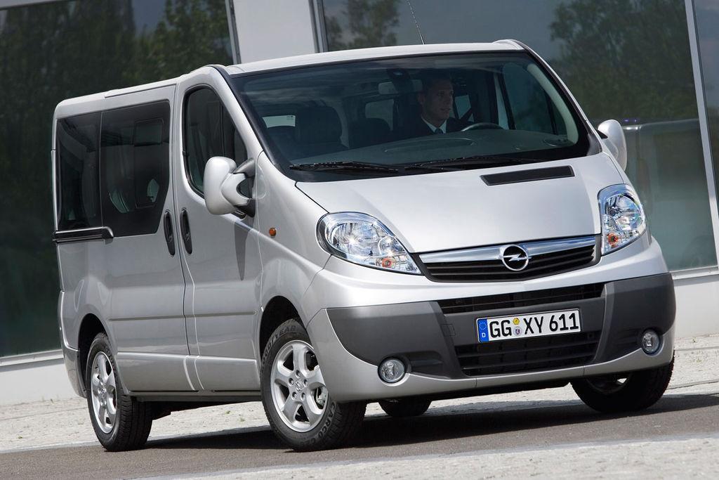 De Opel Vivaro van 2011-2014