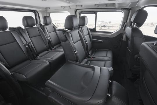 De Opel Vivaro van 2014-2019 - interieur