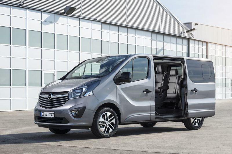 De Opel Vivaro van 2014-2019