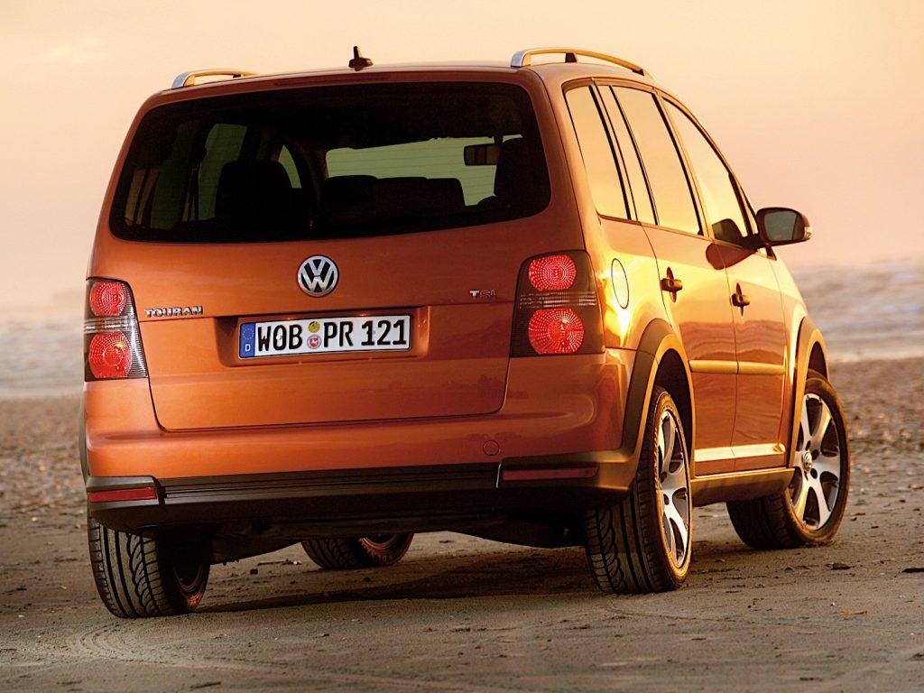 De Volkswagen CrossTouran van 2007-2010