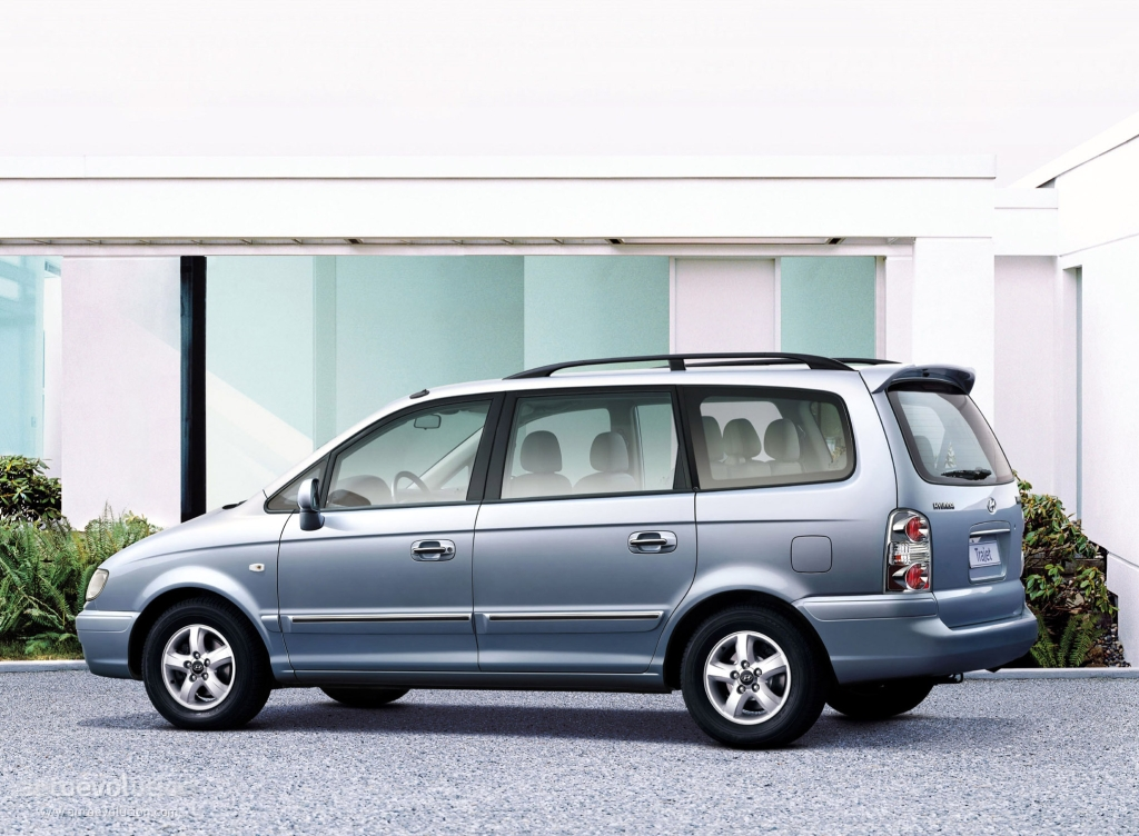 De Hyundai Trajet van 2004-2008
