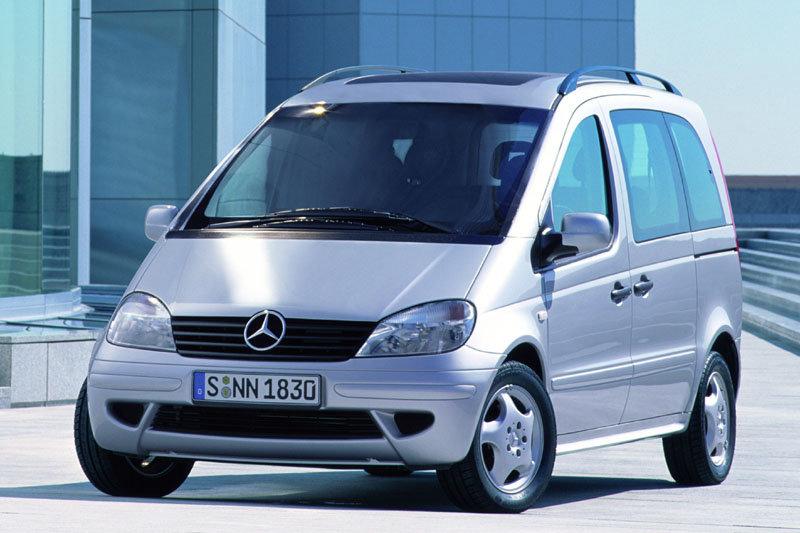 De Mercedes-Benz Vaneo van 2002-2006