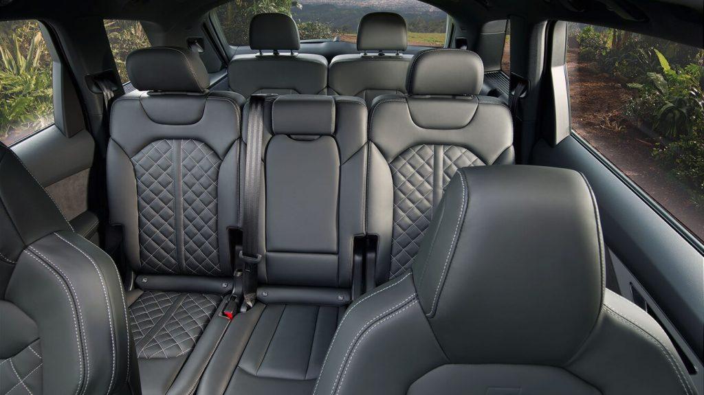 De Audi Q7 met de facelift uit 2020 - interieur