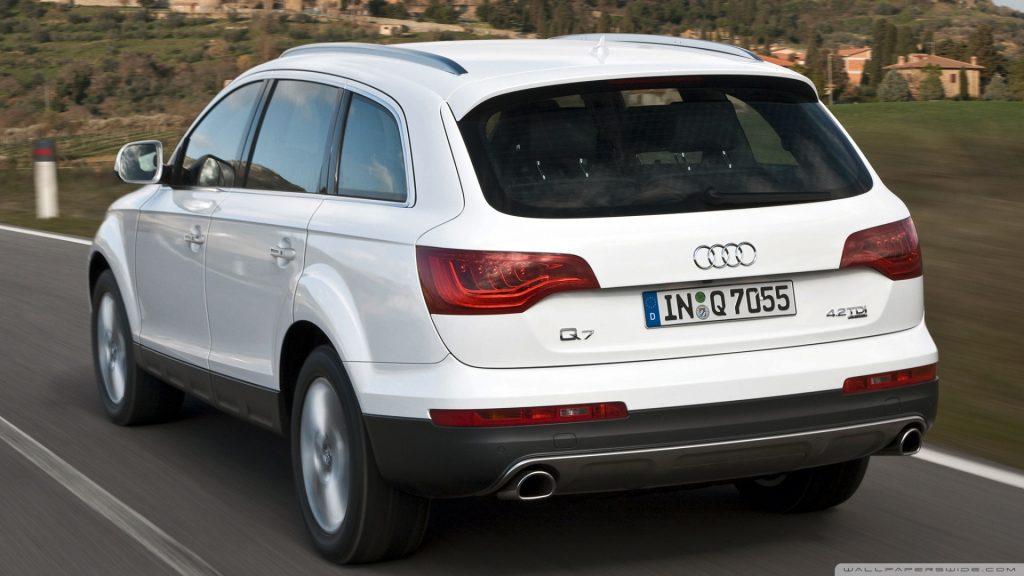 De Audi Q7 uit 2006