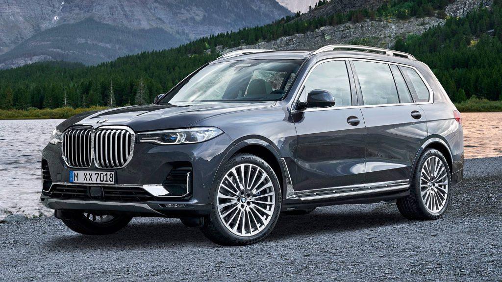 De BMW X7 uit 2019
