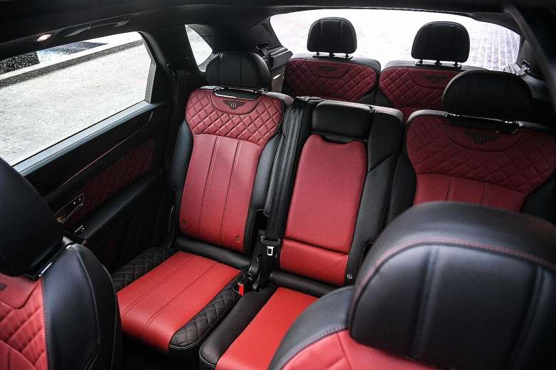 De Bentley Bentayga uit 2016 - interieur