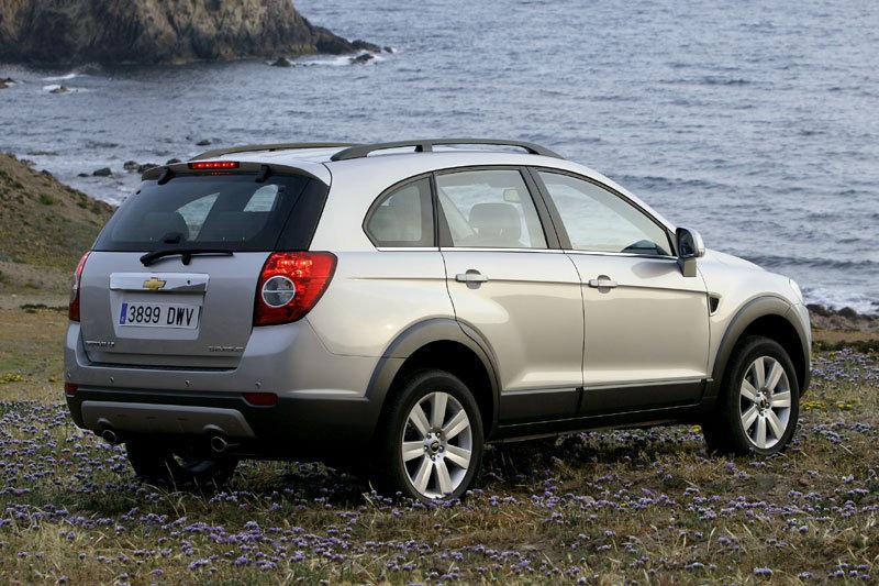 De Chevrolet Captiva van 2006-2011