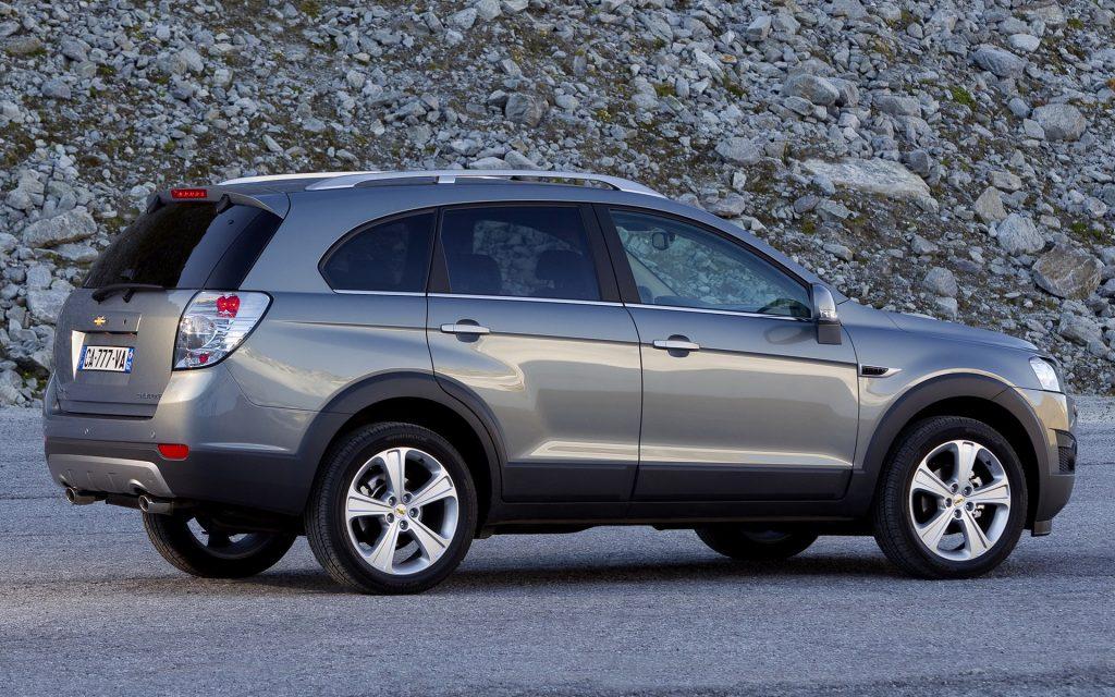 De Chevrolet Captiva met de facelift van 2011-2014
