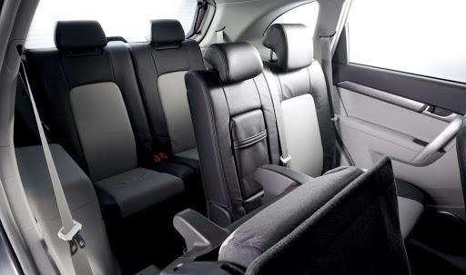 De Chevrolet Captiva met de facelift van 2011-2014 - interieur