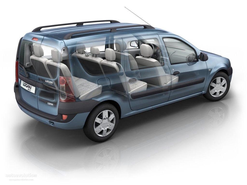 De Dacia Logan van 2008-2013 - interieur
