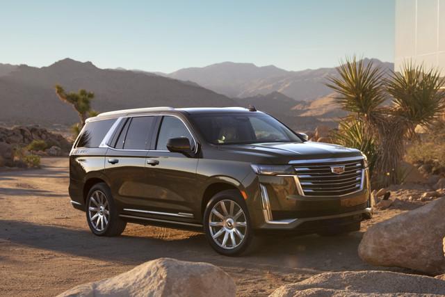 De Cadillac Escalade met de facelift uit 2021