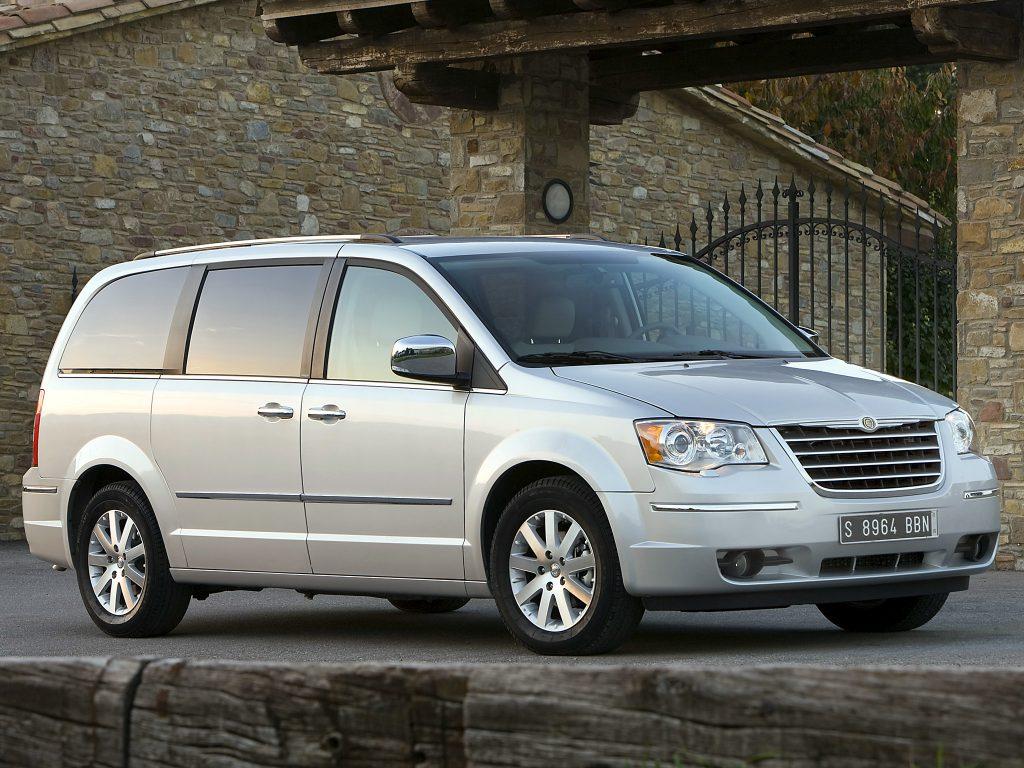 De Chrysler Grand Voyager met de facelift van 2008-2011