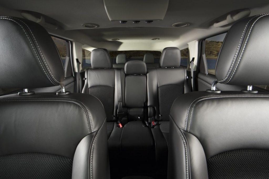 De Dodge Journey van 2008-2011 - interieur