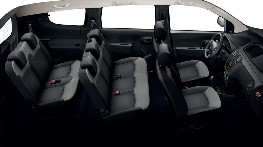 De Dacia Lodgy van (2012-) - interieur