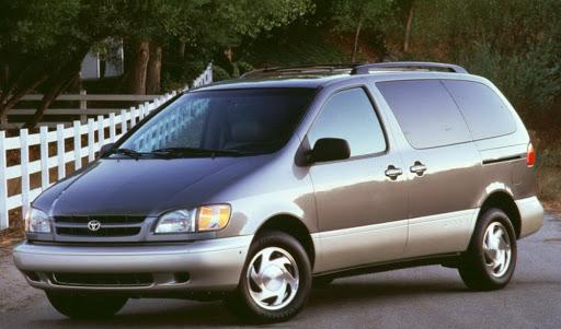 De Toyota Sienna van 2002-2010