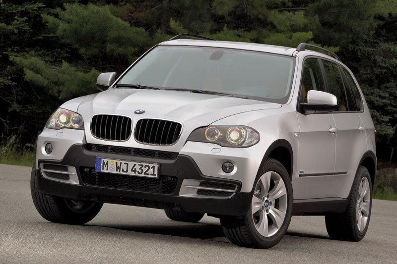 De BMW X5 met de facelift uit 2007