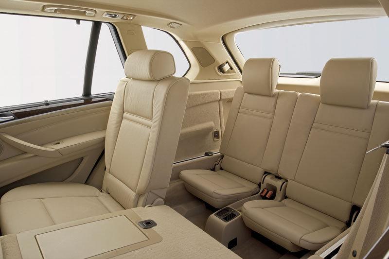 De BMW X5 met de facelift uit 2007 - interieur