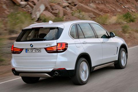 De BMW X5 met de facelift uit 2013