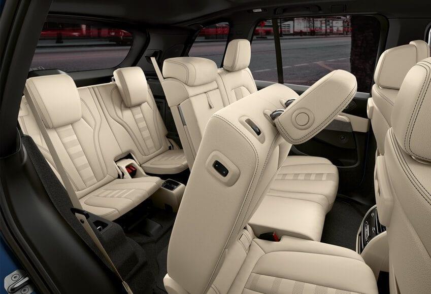 De BMW X5 met de facelift uit 2018 - interieur