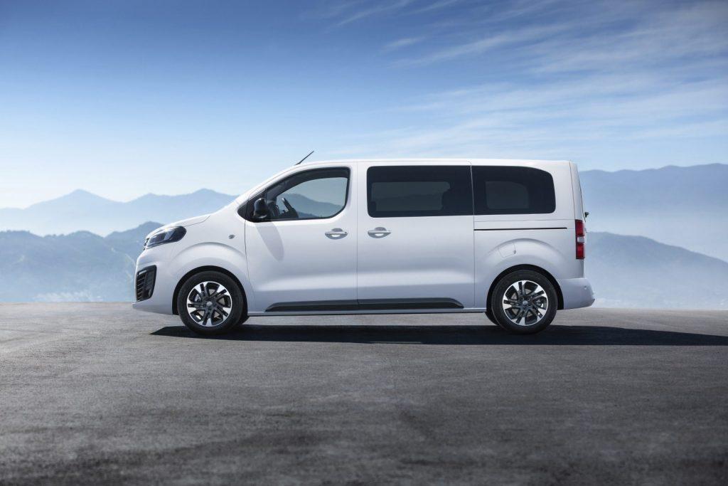 De Opel Zafira Life van 2019