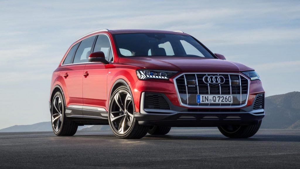 De Audi Q7 met de facelift uit 2019