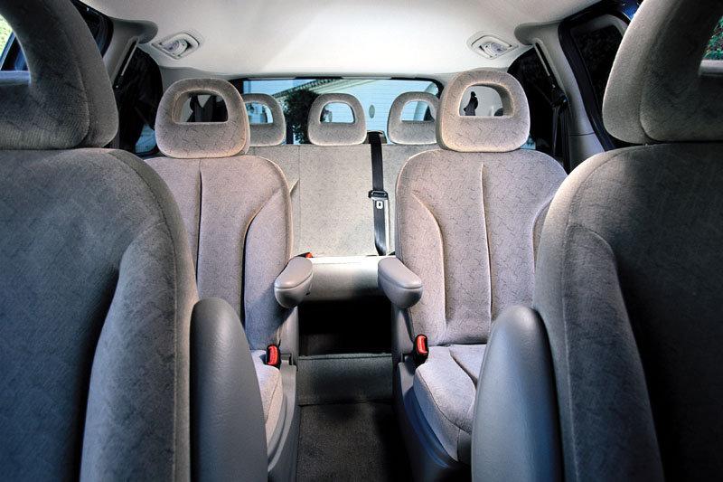 De Chrysler Voyager van 2001-2011 - interieur