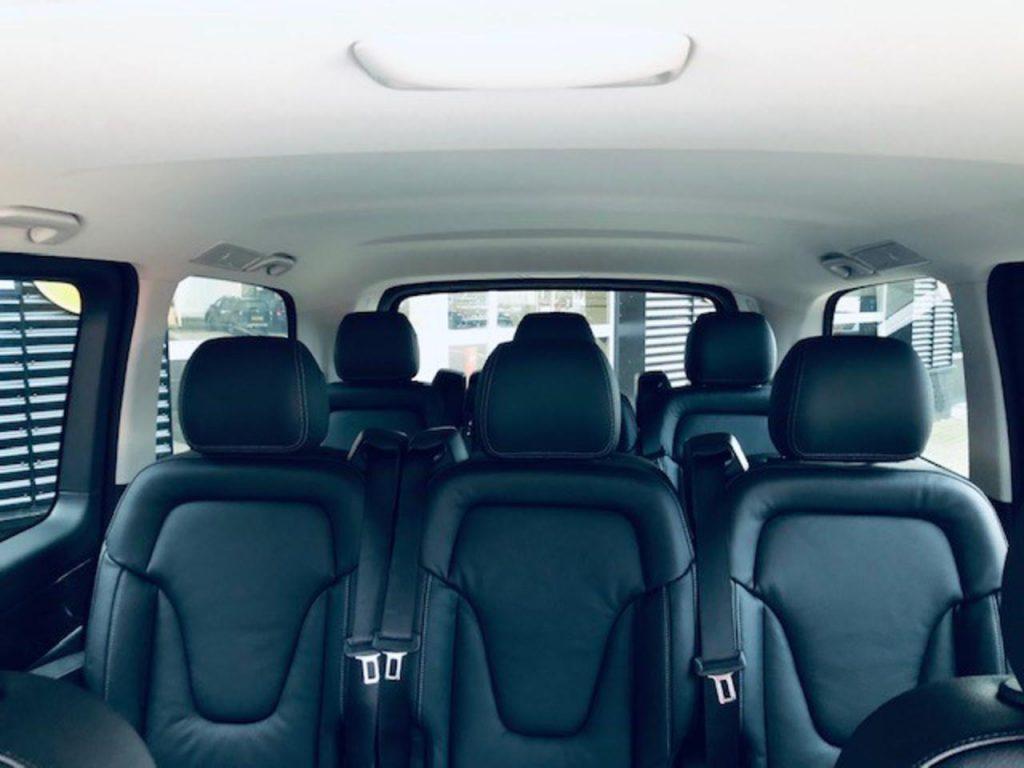 De Mercedes-Benz EQV uit 2020 - interieur