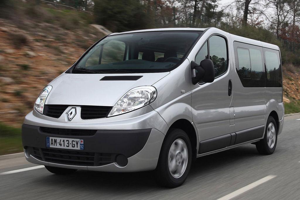 De Renault Trafic Passenger van 2011-2014