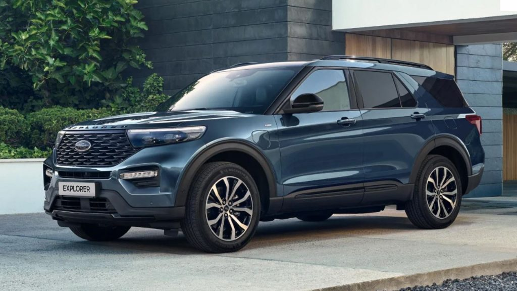 Ford Explorer uit 2020