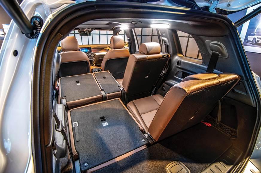 De Mercedes-Benz GLB van 2020