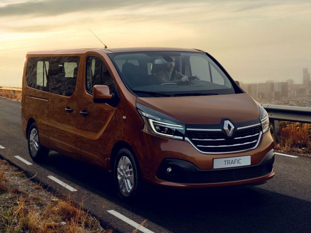 De Renault Trafic Passenger van 2015-2020