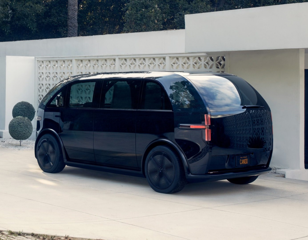 De Canoo Lifestyle Vehicle van 2023