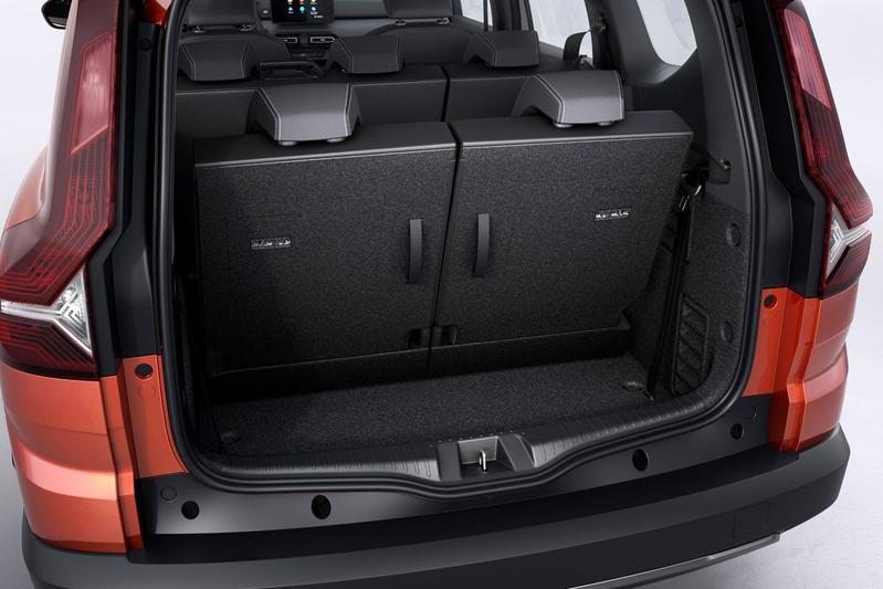 De Dacia Logger van 2021 - interieur
